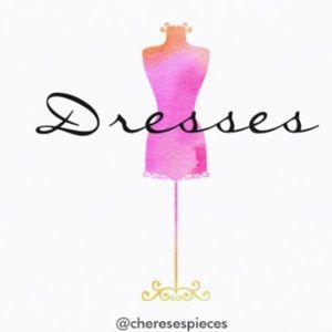 Dresses from a variety of designers! Sizes vary!